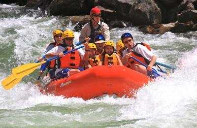 escursione rafting baia del silenzio