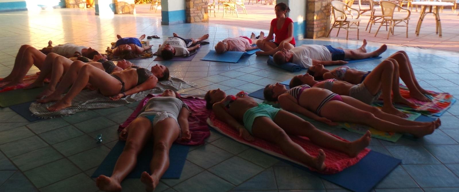 Sala Yoga Baia del Silenzio