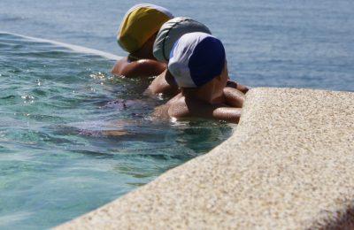 Slide - Vista panoramia piscina Baia del Silenzio