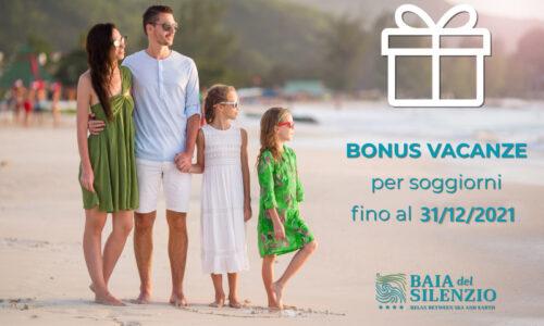 bonus vacanze 31 12